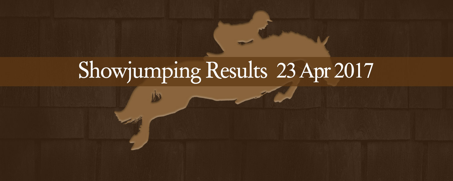 Ballavartyn Isle of Man - Showjumping Results 23 April 2017