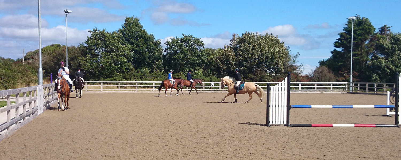 Outdoor Arena Ballavartyn Equestrian Centre