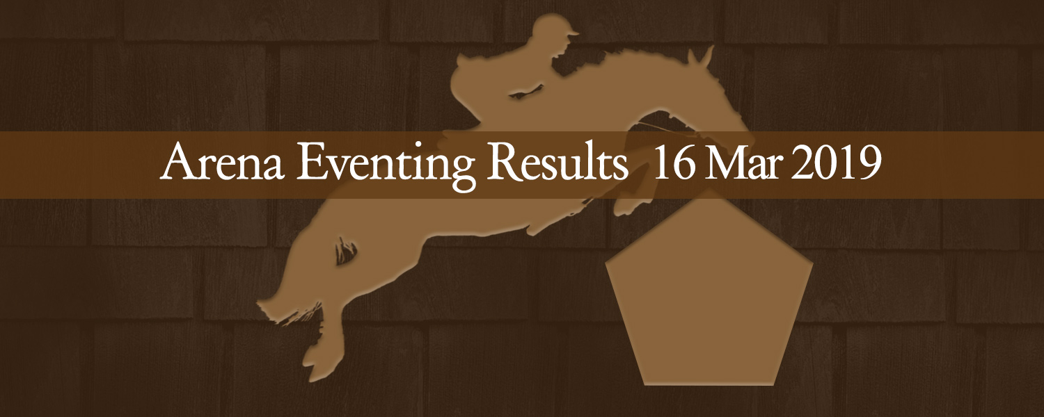 Ballavartyn Arena Eventing Results 03/19