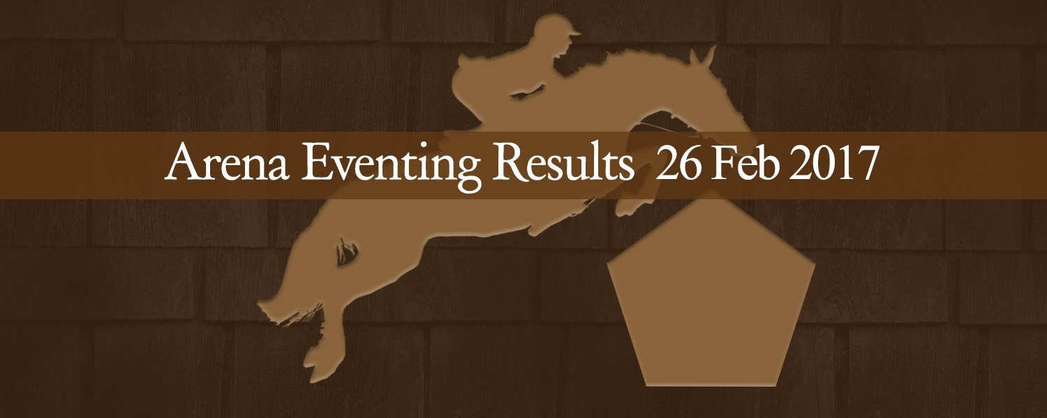 Ballavartyn Arena Eventing Results 02/17