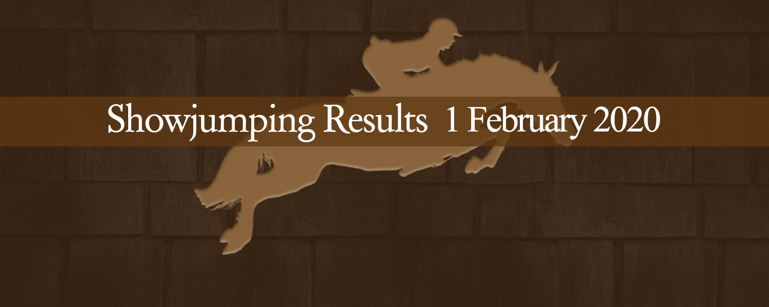 Ballavartyn Showjumping Results 1 February 2020