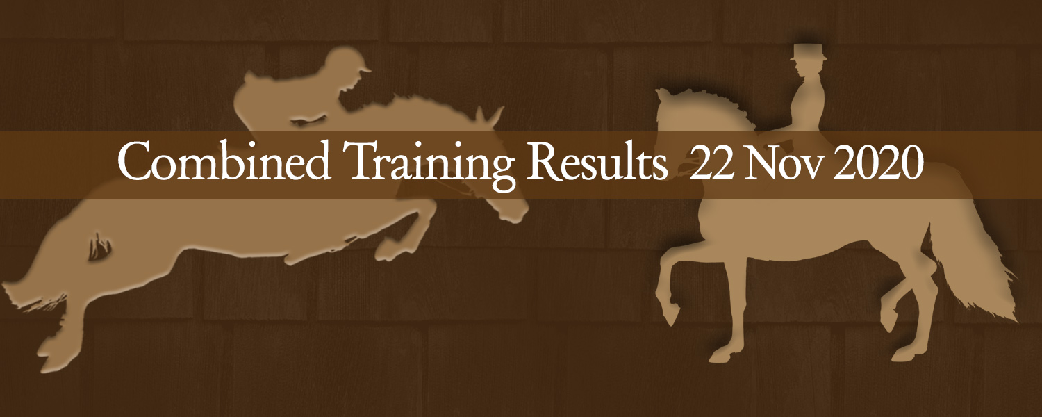 Ballavartyn Combined Training Results 22 November 2020