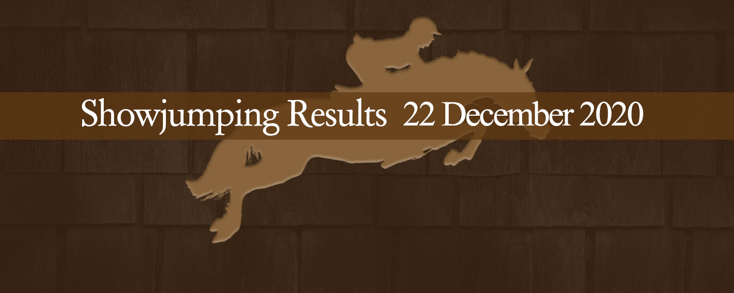 Ballavartyn Showjumping Results 22 December 2020