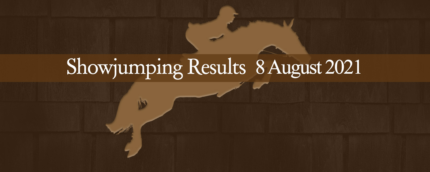 Ballavartyn Showjumping Results 8 August 2021